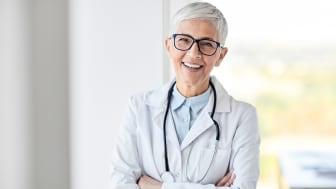 senior doctor at a hospital or clinic