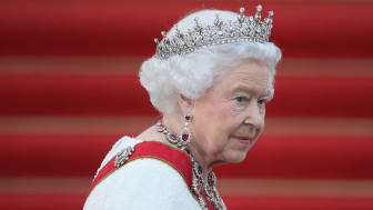 Close up of Queen Elizabeth