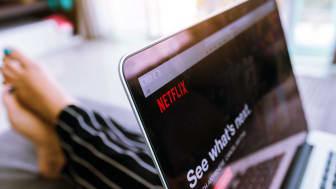 CHIANG MAI ,THAILAND - March 31, 2018 : Close up Netflix website in laptop screen. Netflix being popular internationally.