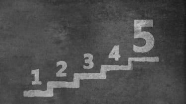photo illustration of number five
