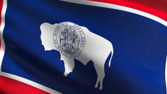 picture of Wyoming flag