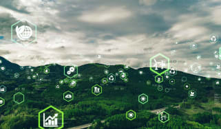 photo illustration green investing