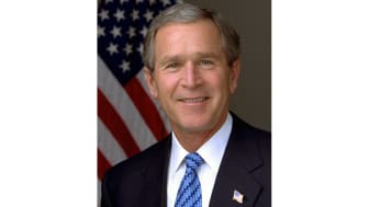 President George W. Bush. Photo by Eric Draper, White House.