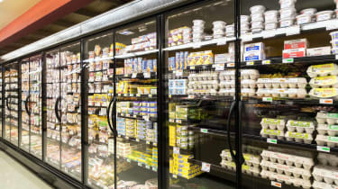 refrigerated section of grocery store