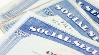 picture of Social Security cards