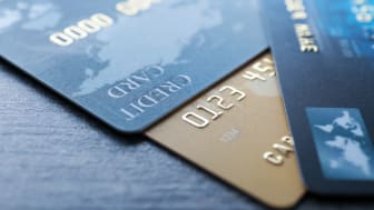 A collection of credit cards