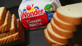 MIAMI, FL - NOVEMBER 16: In this photo illustration, Hostess Brand Wonder Bread is shown on November 16, 2012 in Miami, Florida. Hostess Brands Inc. decided to liquidate its business after st