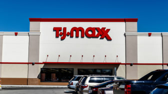 Indianapolis - Circa March 2018: T.J. Maxx Retail Store Location. T.J Maxx is a discount retail chain featuring stylish brand-name apparel, shoes and accessories II