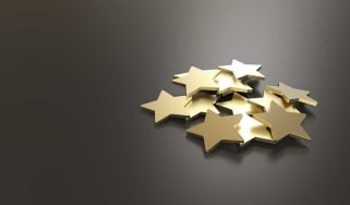 Excellent Customer Service golden stars