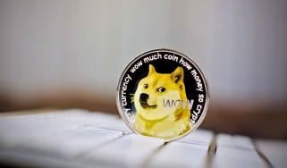 Concept art of Dogecoin