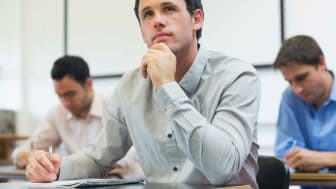 photo of adult student in class