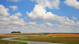 picture of fields in Nebraska