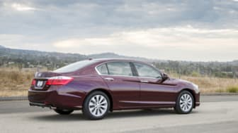 2014 Honda Accord EX-L V-6 Sedan.