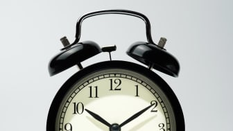 An old-fashioned alarm clock