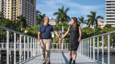 Photo of couple featured in article