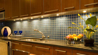 Modern household kitchen