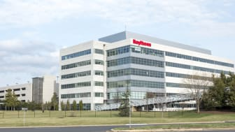 Raytheon office building in Sterling Virginia. Raytheon is a U.S. Defense Contractor.