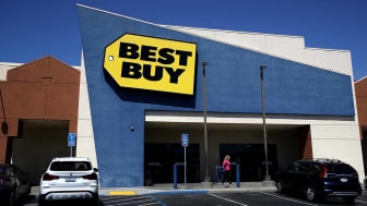 SAN BRUNO, CALIFORNIA - AUGUST 29: A view of a Best Buy retail store on August 29, 2019 in San Bruno, California. Best Buy reported second quarter earnings that fell short of analyst expectat