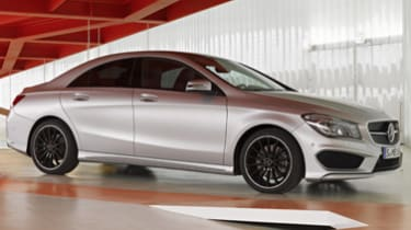 2014 Mercedes-Benz CLA250 with Optional Sport Package.