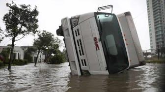 photo of flooded vehicle
