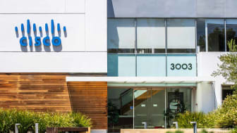 August 7, 2019 Santa Clara / CA / USA - CISCO IoT Cloud business unit (formerly Jasper Technologies, Inc) offices in Silicon Valley;