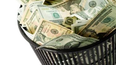 dollars bin