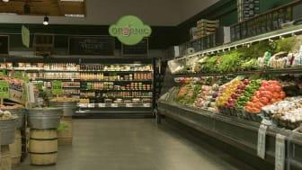 Photo of supermarket floor