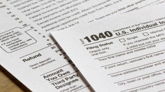 picture of tax forms