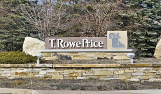 T. Rowe Price sign