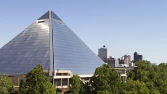 Memphis City Arena Skyline