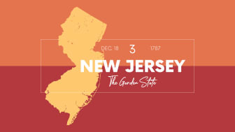 picture of New Jersey with state nickname