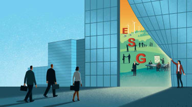 illustration of ESG investments