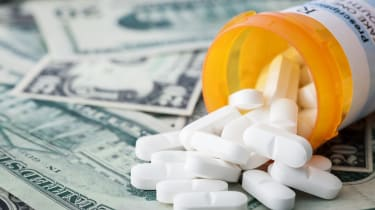 Cost of Healthcare, Prescription pills on US dollars