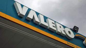 LOS ANGELES, CA - FEBRUARY 01:A sign is displayed at a Valero gas station on February 1, 2019 in Los Angeles, California. Valero Energy Corp, formerly one of the largest buyers of Venezuelan