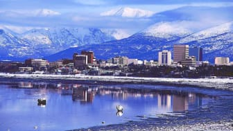 A picture of Anchorage, Alaska